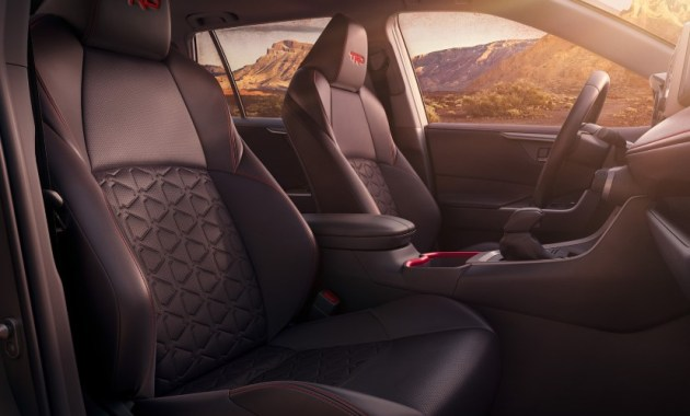2021 Toyota RAV4 TRD Cabin and Interior Design