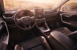 2021 Toyota RAV4 TRD Dashboard and Features