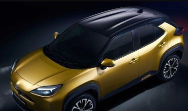 2021 Toyota Yaris Cross View From The Top