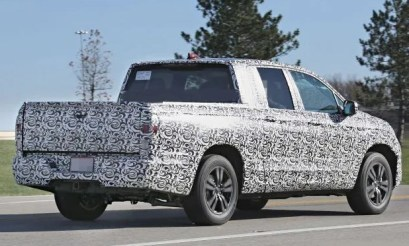 2022 Honda Ridgeline with new exterior design