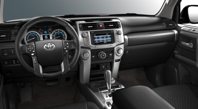 2022 Toyota 4Runner Steering Wheel and Dashboard Photo