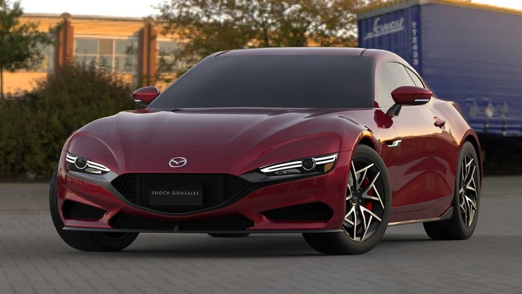 2021 Mazda RX-7 with new exterior design