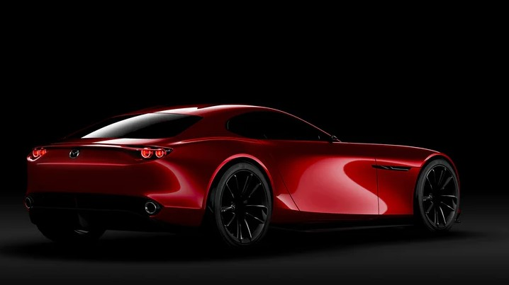 2021 Mazda RX-9 with new exterior design