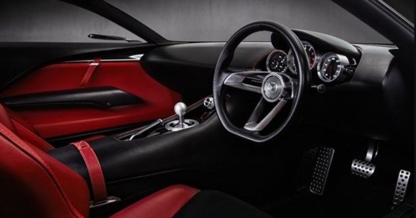 2021 Mazda RX-9 with new interior design