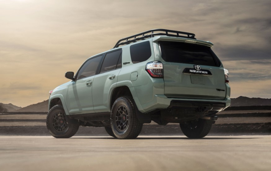 2021 Toyota 4Runner Trail Powered with new engine system