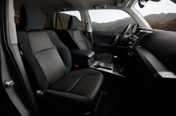 2021 Toyota 4Runner Trail with new interior design