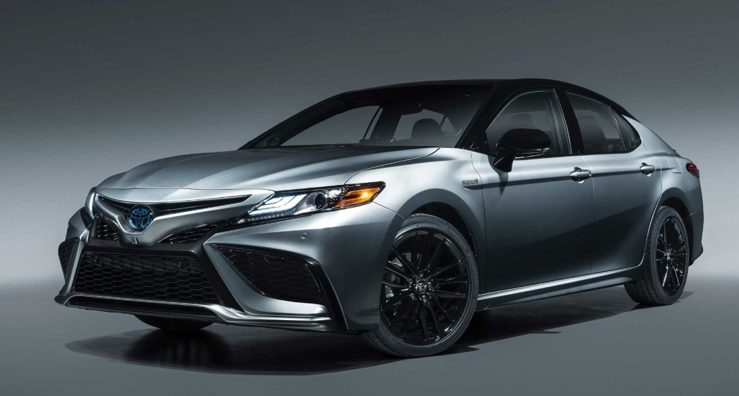 2021 Toyota Camry Hybrid with New Exterior Design