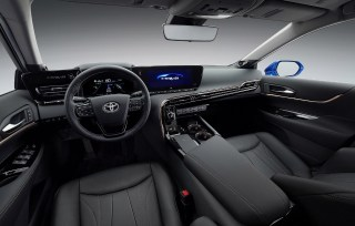 2021 Toyota Mirai with new interior design