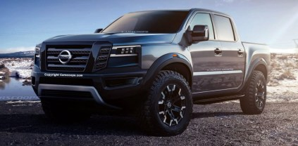 2021 Nissan Frontier with new exterior design