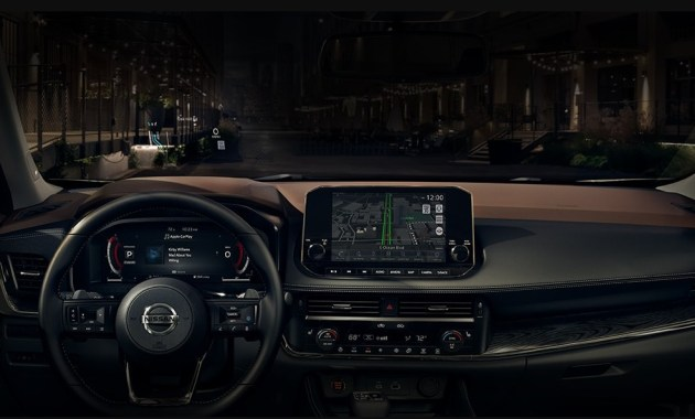 2021 Nissan Rogue Dashboard and Features