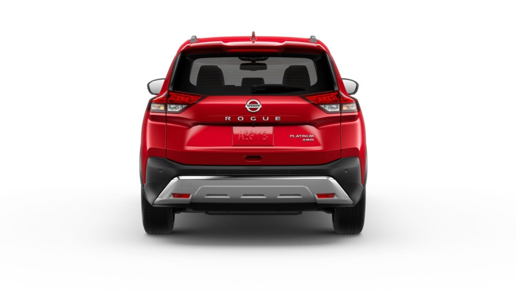 2021 Nissan Rogue with new exterior design