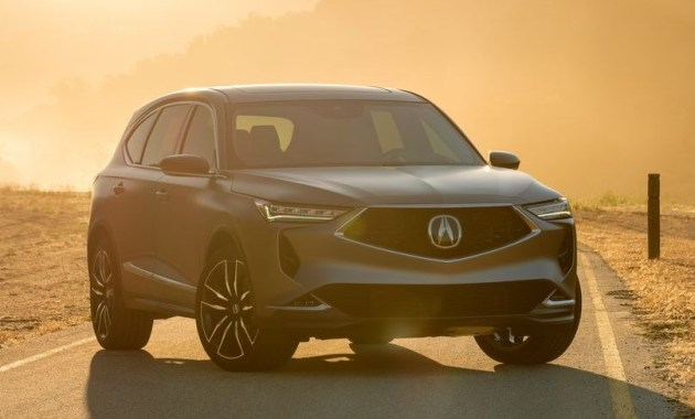 2022 Acura MDX with new exterior design
