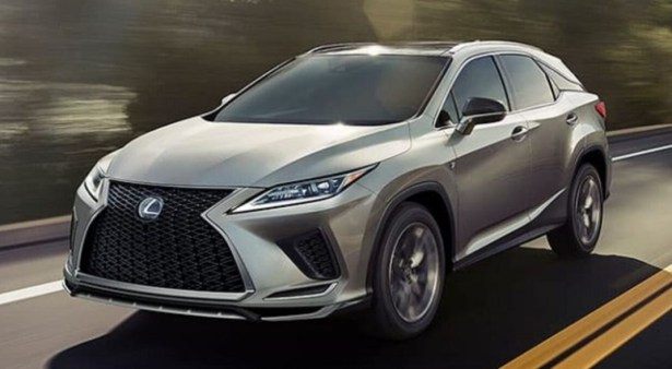 2022 Lexus RX350 Powered with new engine system