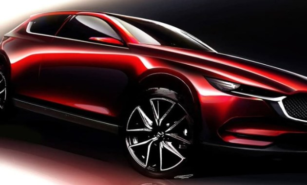 2022 Mazda CX-5 with new exterior concept