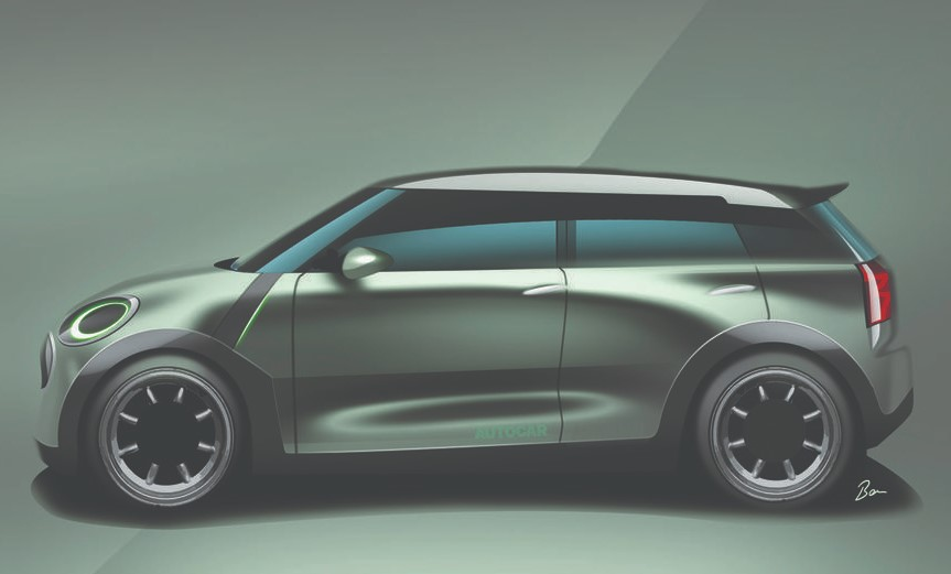 2022 Mini Cooper Countryman with new exterior design