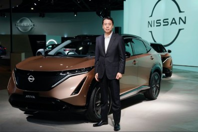2022 Nissan Ariya introduced at Auto Show