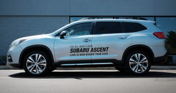 2022 Subaru Ascent with new exterior style