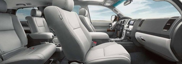 2022 Toyota Sequoia with new interior