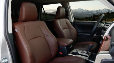2020 Toyota 4Runner with new interior
