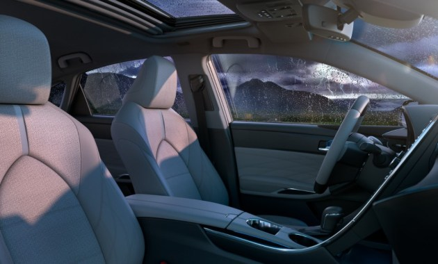 2021 Avalon Hybrid with new interior style design