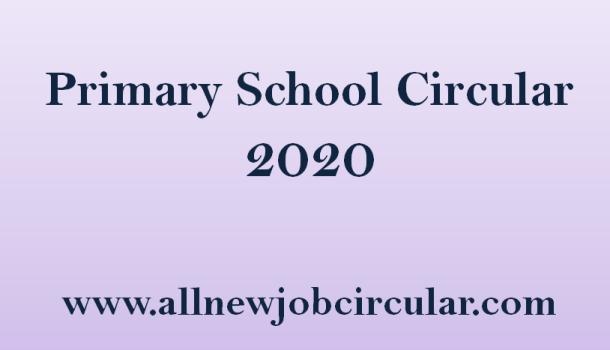 Primary Circular 2020