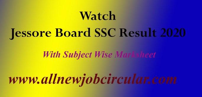 Check Jessore Board SSC Exam Result 2020