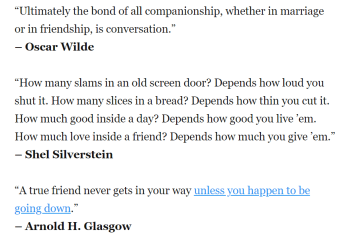 real friendship quotes