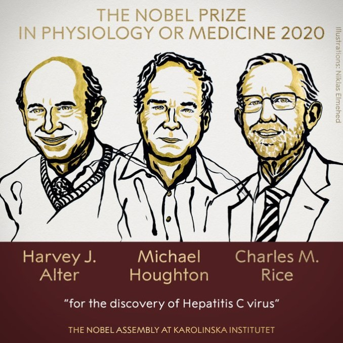 Harvey J. Alter, Michael Houghton and Charles M. Rice