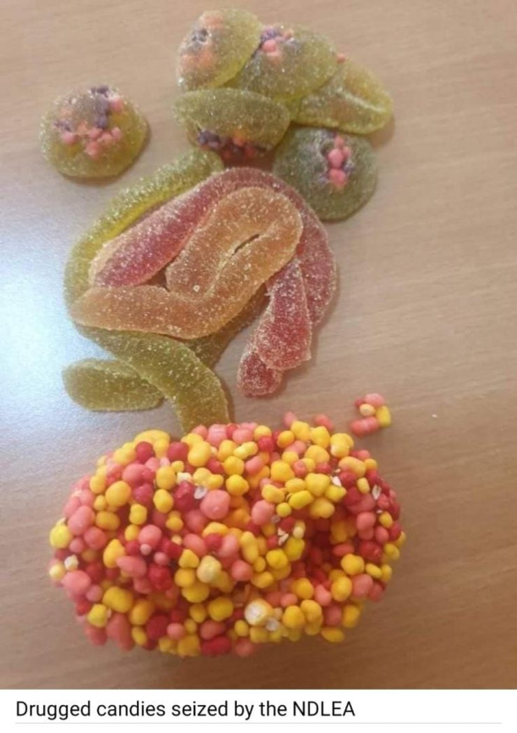 NDLEA Intercepts Drugged Candies From UK, Nabs 22-Year-Old Importer
