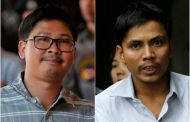 Reuters reporters clock up one year in detention in Myanmar prison