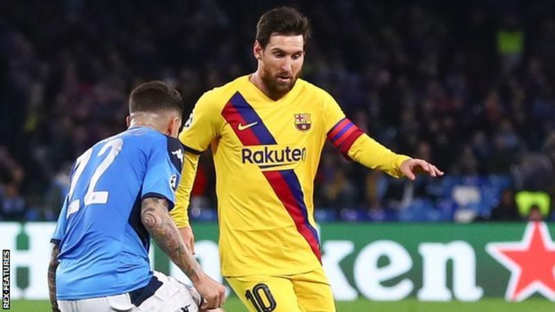 Coronavirus: La Liga matches & Barca Champions League game behind closed doors