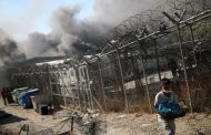 Moria migrants tear gassed by Greek police in protest over new camp