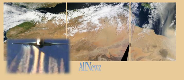 Χημικοί αεροψεκασμοί και σκόνη από την Αφρική