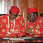 """Umahi: PDP Mocks Buhari For """"Political Scavenging""""…Urges President to Get Serious With Governance"""