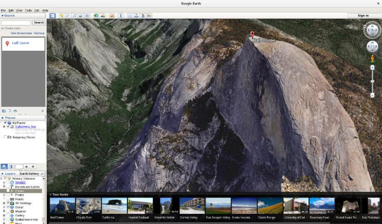 yosemite google earth 7