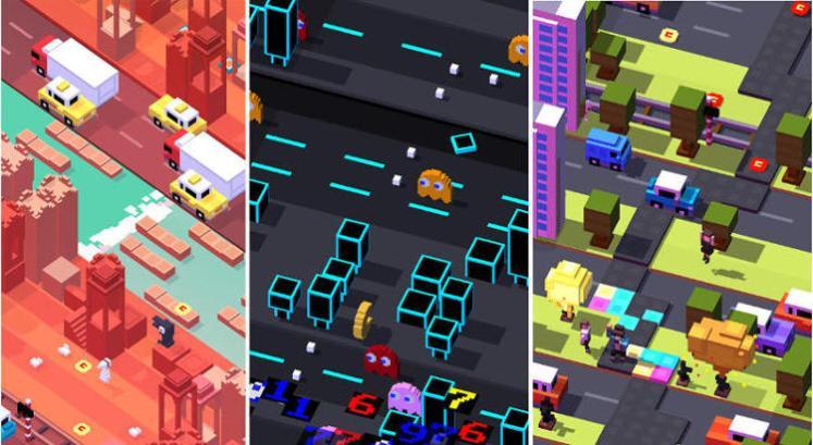 crossy road screenshots