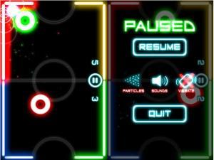 glow hockey screenshots