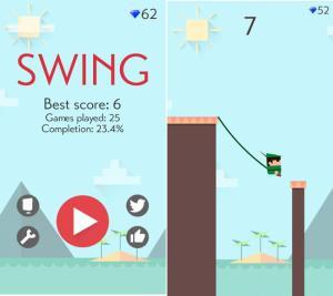 ketchapp swing score screenshot
