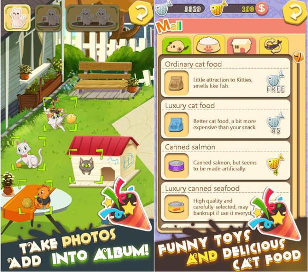 kitty home screenshots