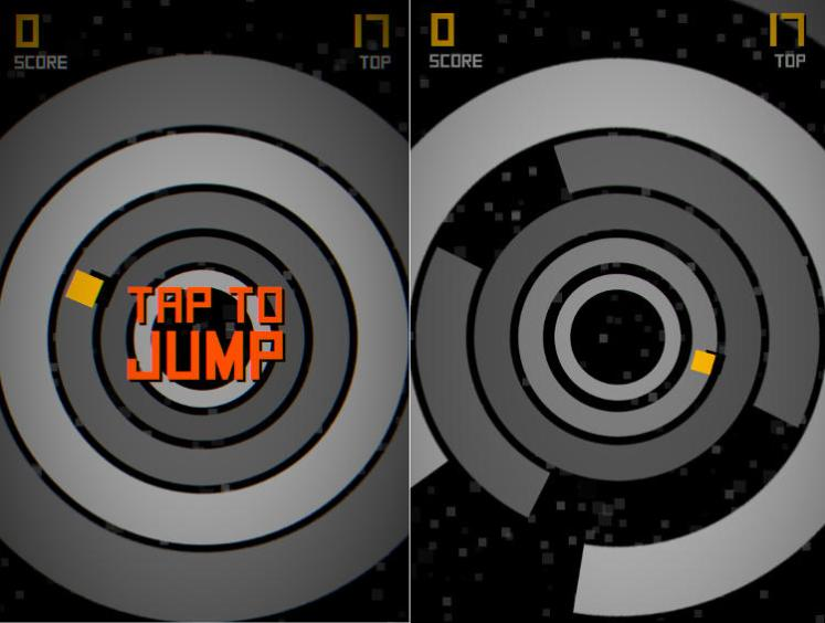 cruel jump circles game play