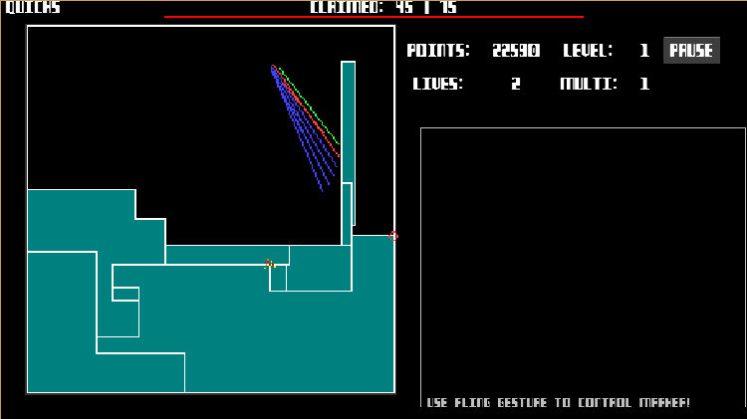 quicks qix arcade game android