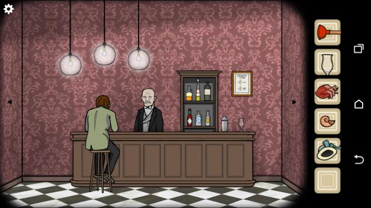 rusty lake theatre barfly bartender