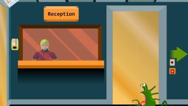 astrocreep alien receptionist