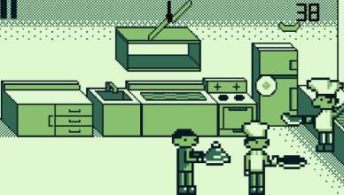 pixel kitchen food chef
