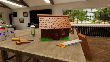 woodworking simulator birdhouse