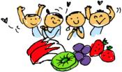 子供は弁当に果物が喜ぶ