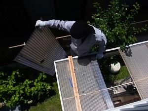トタン屋根修理