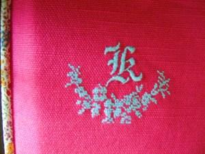 ぷっくり立体感のある刺繍