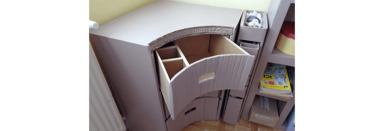 Pourquoi faire des meubles en carton ?