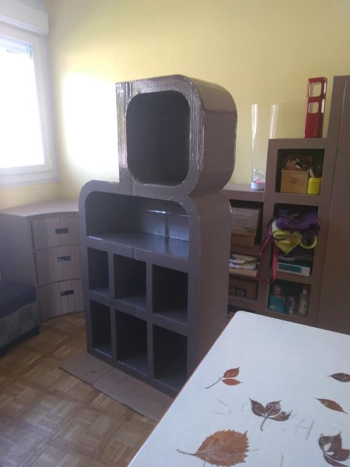 Formation meuble en carton